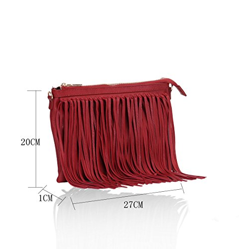 Gessy, Borsa a tracolla donna GN60221Berry GN60221Berry