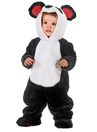 Baby Kostüm Panda, Kleinkinderkostüm Panda, Pandakostüm, (Original Niedlich Ideen Kostüm)