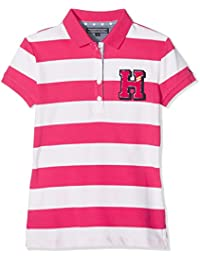 Tommy Hilfiger Mädchen Poloshirt Ame Girls Stripe Polo S/S