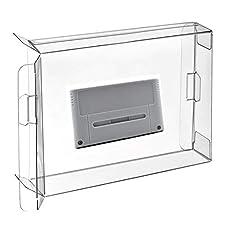 Childhood 10 PC EU JP carritos módulos Cajas aptas de la manga de las cajas del protector del juego para la versión estupenda de la UE JP del cartucho de para SNES Famicom