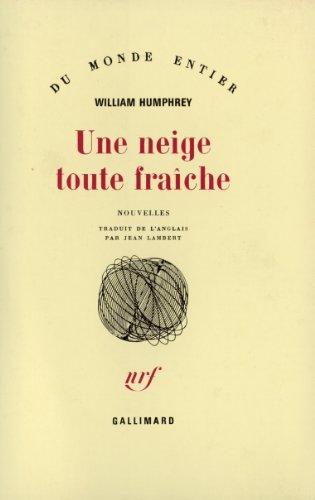 Une neige toute fraîche par W. Humphrey