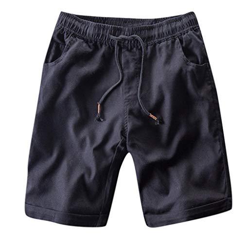 OPAKY Pantalones Rectos Algodón Jeans Ajustados Casuales