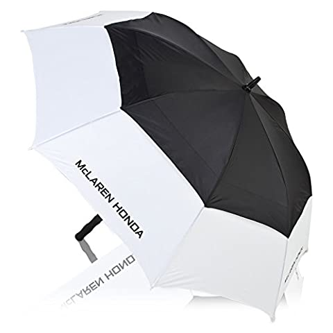 McLaren Honda Team Logo Golf Umbrella Black White Lightweight Durable Accessory
