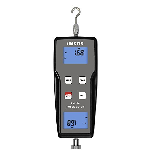 FM-204-100K Digital Force Gauge Push Pull Gauge Tester Meter 3 Measurement Units N, kg, lb