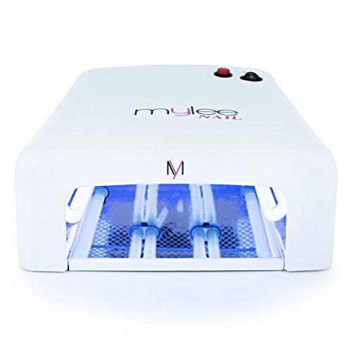 Mylee Lampe UV professionnelle 36 Watt pour gel à ongles – Séchage des vernis à ongles – Minuteur de 120 secondes + 4...