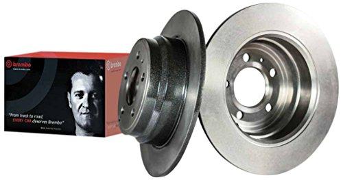 Brembo 08.8163.21 - Disco Freno Anteriore con verniciatura UV - Set di 2 dischi