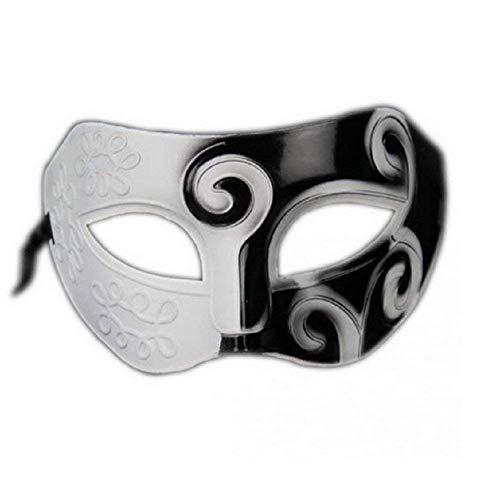 Kostüm Weiß Und Figur Schwarz Tv - Inception Pro Infinite Maske - Schwarz und Weiß - Pierrot - Karneval - Halloween - Frau - Dekorationen