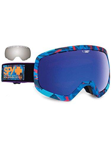 Spy Snow Goggle Platoon with Bonus Lens Plus Saber, Happy Rose Dark Blue Spectra, One Size