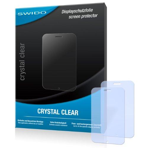 SWIDO Bildschirmschutz für Nokia Asha 230 [4 Stück] Kristall-Klar, Hoher Härtegrad, Schutz vor Öl, Staub & Kratzer/Schutzfolie, Bildschirmschutzfolie, Panzerglas Folie
