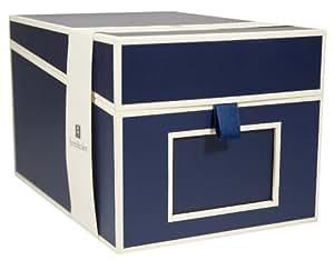 cd und fotobox in marine von semikolon b robedarf schreibwaren. Black Bedroom Furniture Sets. Home Design Ideas