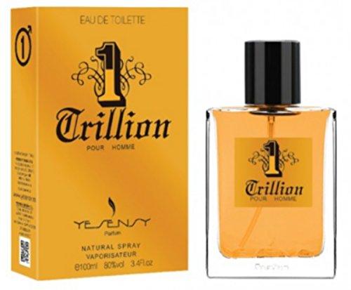 1 Trillion - Parfum Homme generique/Inspiré par la prestigieuse parfumerie de Luxe/Eau De Toilette 100ml - Licences Discount (Livraison Gratuite) - Pas cher/bas prix/Destockage