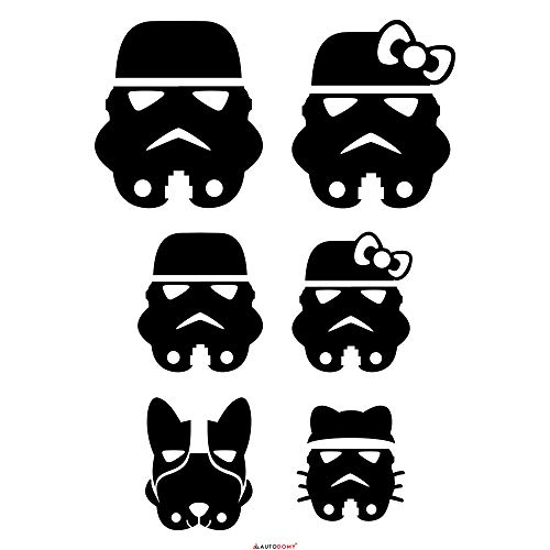 Autodomy Pegatinas Familia Star Wars Tropper Pack