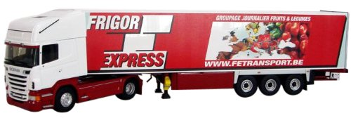 ELIGOR 1/43 Scania R series topline NEW refrigerated semi-trailer FRIGOREXPRESS (japan import)