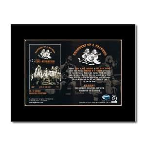 Crowes Noir-Chris/Rich Robinson-Frères de plumes Mat Mini Poster-21x 13,5cm