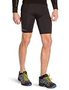 Craft Performance Cuissard running homme Noir/Scream FR : L (Taille Fabricant: L)
