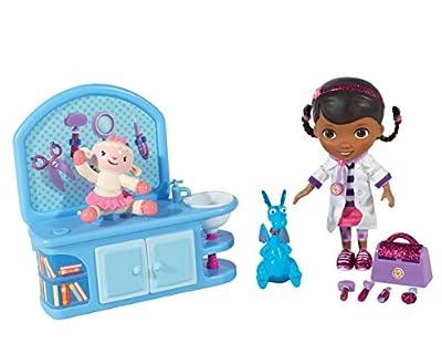 Flair Leisure Products Doctora Juguetes 5652 - Muñeca y centro veterinario mágico (incluye accesorios) de Docteur La Peluche