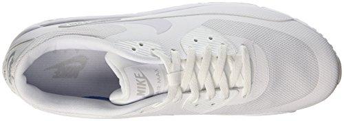 Nike Air Max 90 Ultra 2.0 Essential, Sneaker Uomo Bianco (White / White / White / Pure Platinum)