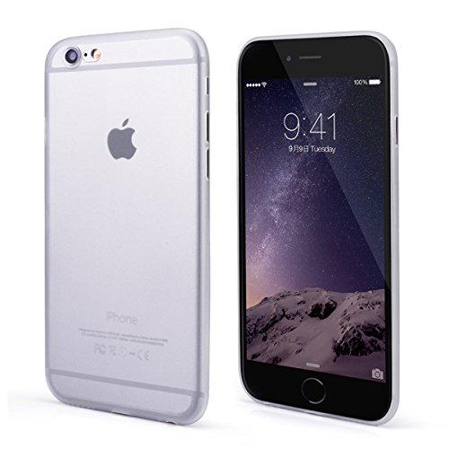 OKCS Case für Apple iPhone 6, 6s Hülle TPU Schutzhülle Durchsichtig Cover Bumper - in Gold Silber