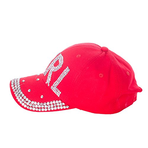 Gadzo - Casquette de Baseball - Femme Rouge - rot 0204