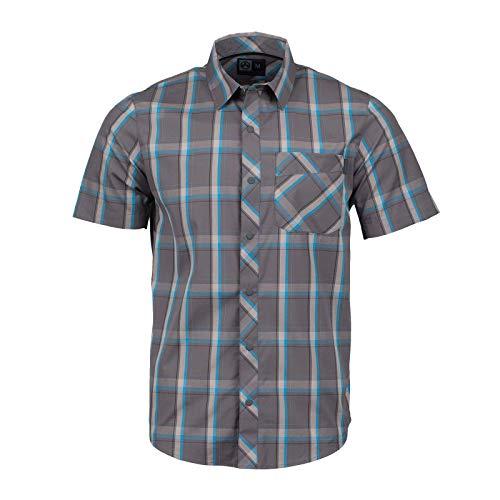 Button-up-shirt (Magpul Herren R&r Plaid Short Sleeve Button-up Shirt kurzärmelig, Tornado, Small)