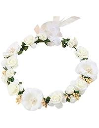 TININNA Elegante e alla moda Copricapo da sposa garland Cerchietti Fasce  per capelli fiore di simulazione 489529245abc