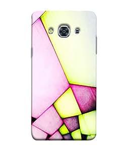 PrintVisa Designer Back Case Cover for Samsung Galaxy J3 Pro :: Samsung Galaxy J3 (2017) (Fashion fabulous Luminous Art Piece)
