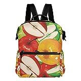TIZORAX oil Paiting frutta mele scuola zaino Zaino borse College Bookbags per Teen ragazzi ragazze