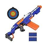 ningxiao586 N-Strike Elite Retaliator Blaster, Blaster motorizzato con Target Soft Soft Bullet Safety Giocattolo per Bambini Soft Bullet Pistol Long Range Genitore-Bambino Soft Bullet Pistol
