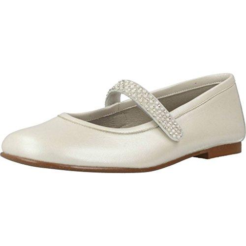Landos Zapatos Cordones 8185AC para Niñas Blanco 28 EU
