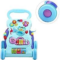 Oddity Baby Kinderwagen Spielzeug Musik Walker Rollwagen Spielzeug Anti-Rollover Walker Multifunktions Lerntisch Spielzeug für Kleinkinder Jungen Mädchen