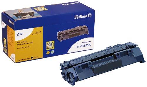 Pelikan Toner-Modul 1217 ersetzt HP CE505A, Schwarz, 3650 Seiten 6160 Kit
