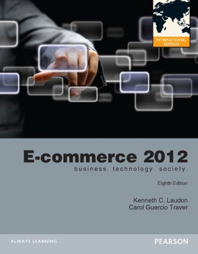 E-Commerce 2012 by Kenneth C. Laudon (2012-01-01)