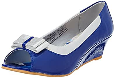 Disney Girl's Ballerina Blue Pumps - 1 UK/India (34 EU)
