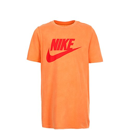 Nike Air Max 90 Training Shirt, Arancione/Rosso,