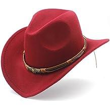 Amazon.it  cappello cowboy - Rosso 56eea5eae4cc