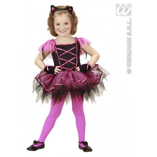 Ballerina Katze Kostüm Mädchen Gr. 110 (Ballerina Katze Kostüm)