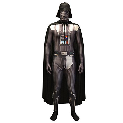Morphsuits Offiziell Darth Vader Digital Verkleidung, Kostüm - Xlarge - 5'10-6'1 (176cm-185cm) (Darth Vader-halloween-kostüm)