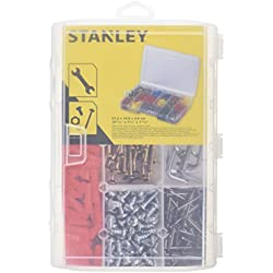 """Stanley Organizer OPP 11 """"/ Werkzeugkasten (27,2x4,6x18,9cm, transparent, für Kleinteile,) 1-92-889"""