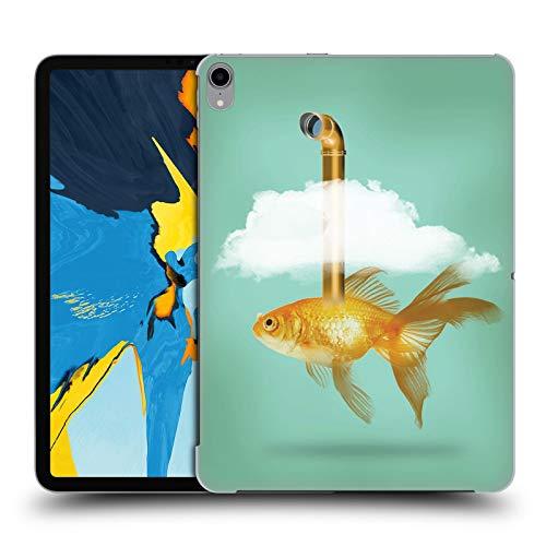 fizielle Vin Zzep Periskop Goldfisch Fisch Harte Rueckseiten Huelle kompatibel mit iPad Pro 11 (2018) ()