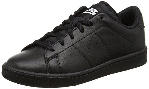 Nike Jungen Tennis Classic Prm (Gs) Turnschuhe Schwarz (Black/Black)