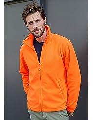 Polaire homme épaisse orange