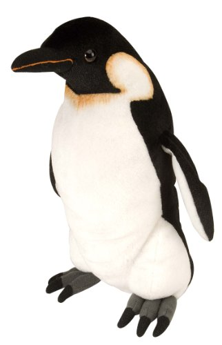 Wild Republic   Cuddlekins, pingüino Emperador de Peluche, 30 cm (11657)