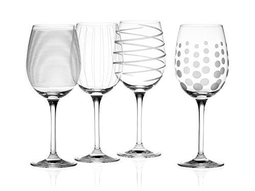 Creative Tops Mikasa Cheers Verres Ballon en Cristal Lot de 4