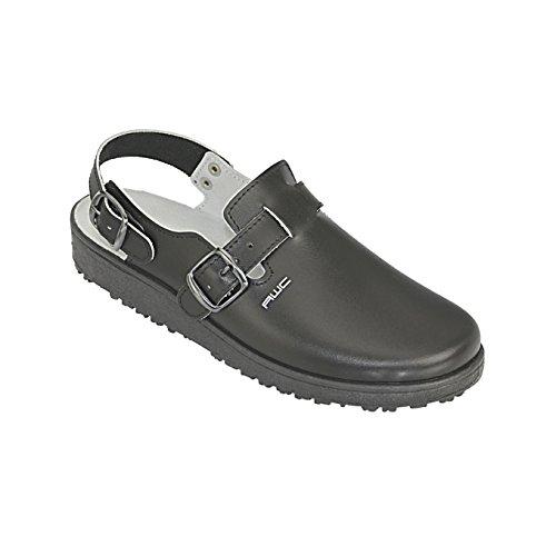 AWC-Footwear Herren Sandale Arbeitsschuhe, Schwarz, Size 45