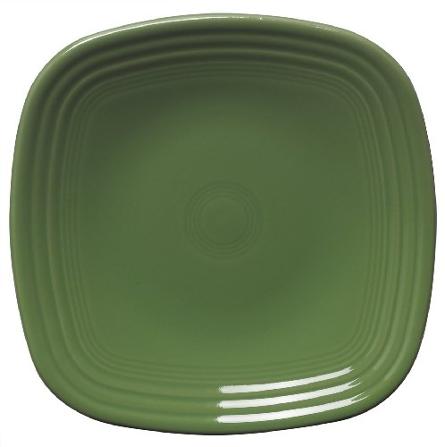 Fiesta 7-3/8-Inch Square Salad Plate, Shamrock by Homer Laughlin (Fiesta Geschirr Shamrock)
