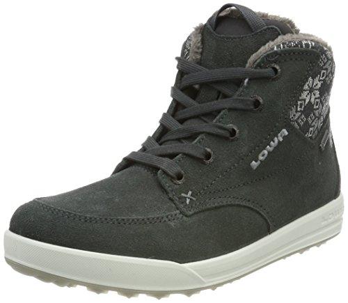 Lowa Damen Mosca GTX Qc Ws Hohe Sneaker, Grau Silber_Graphite/Silver, 37 EU