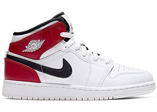 best authentic 8c43c eb30f Nike Air Jordan 1 Mid (GS), Sneaker a Collo Alto Bambino, Multicolore