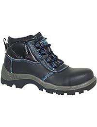 Paredes sp5019NE45acero–Zapatos de seguridad S3talla 45NEGRO/AZUL