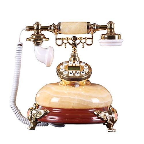 CHLIGUODHJ Interfono telefónico Antiguo Cuerda. Estilo