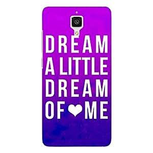 Jugaaduu Dream Love Back Cover Case For Xiaomi Mi4